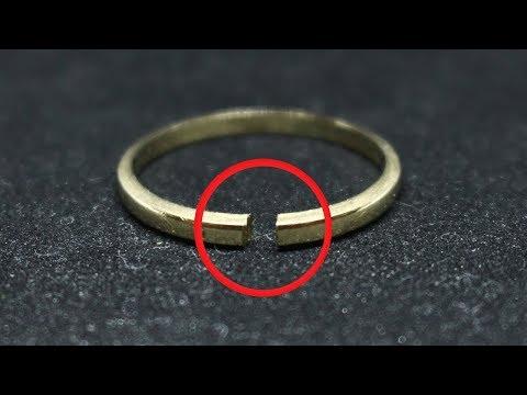 GOLD WEDDING RING BASIC REPAIR/RESTORATION (4)