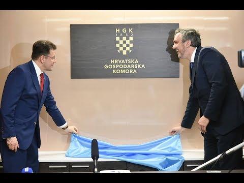 Croatian Chamber of Commerce Opens Office In Belgrade