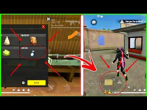 Free Fire Bug Vô hạn bom keo vào khu giao tranh cực bá | Top 3 bug and trick free fire