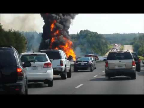 Gas tanker accident