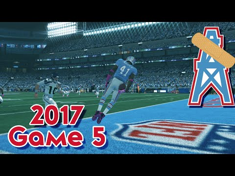 Madden 15 Franchise Mode - Houston Oilers | Season 4, Game 5 vs Seahawks | PRIME TIME FOOTBALL
