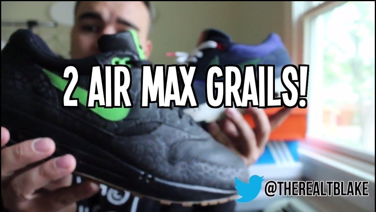 new styles 9aeff da80b Grail Pickups + On Feet!   RARE Air Max 1 - YouTube
