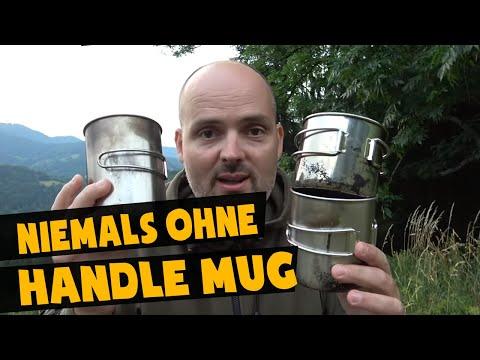 Draußen ohne Handle Mug? | Bushcraft Ausrüstung