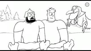 Три богатыря и фрэди крюгер  прикол