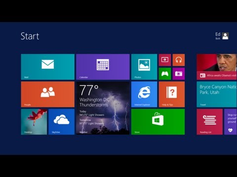 Windows 8 1 Preview Build 9431 Hands On Overview Youtube