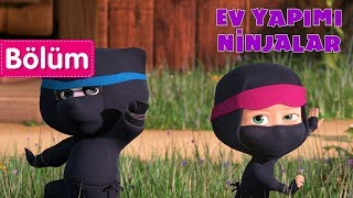 Maşa İle Koca Ayı - 👀 Ev Yapimi Ninjalar 👣(Bölüm 51)