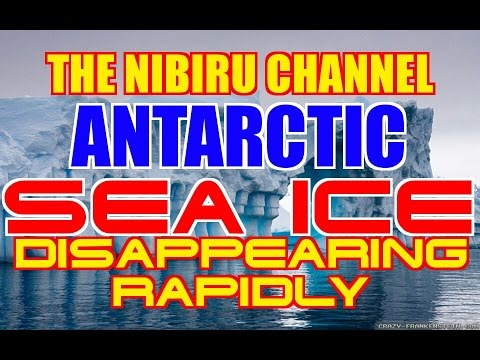 ANTARCTIC SEA ICE RAPIDLY DISAPPEARING..THIS IS BAD NEWS!!!
