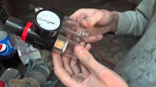 обзор блока подготовки воздуха Intertool PT-1431