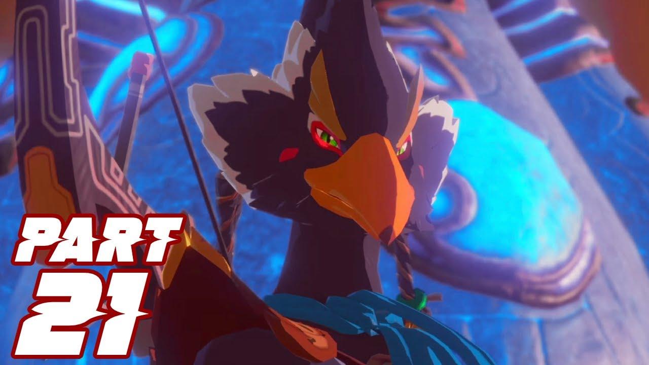 Hyrule Warriors Age Of Calamity Gameplay Part 21 Windblight Ganon Vs Vah Medoh Nintendo Switch Youtube