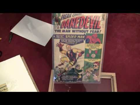 Framing Comics: Daredevil #1 -- ASMR -- Male, Soft-Spoken, Tapping, How to