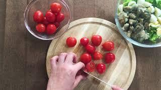 ПП белковый салат | Видео рецепт |