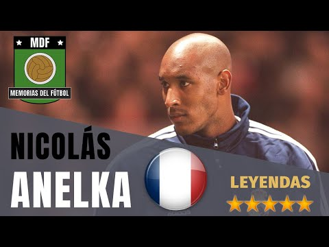 NICOLAS ANELKA 🇫🇷 (1996-2015) | Leyendas del Fútbol