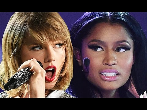 Taylor Swift & Nicki Minaj Shocking MTV VMA Feud