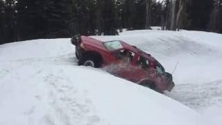 20 FT drift Rodeo Snow Wheelin