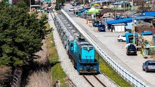 화물 제 6122열차 초성리-소요산 통과