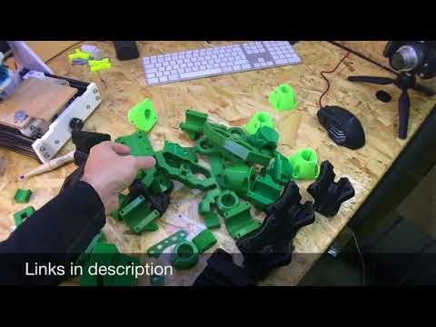 Building A Mostly 3D Printed CNC Router MPCNC PT1
