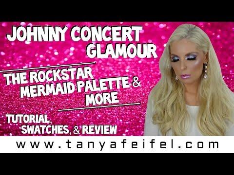 Johnny Concert Glamour | Haul | Swatches | Tutorial | Mermaid Vibes | Tanya Feifel-Rhodes