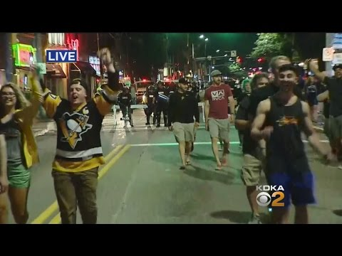 Penguins Fans Celebrate 2nd Stanley Cup Victory