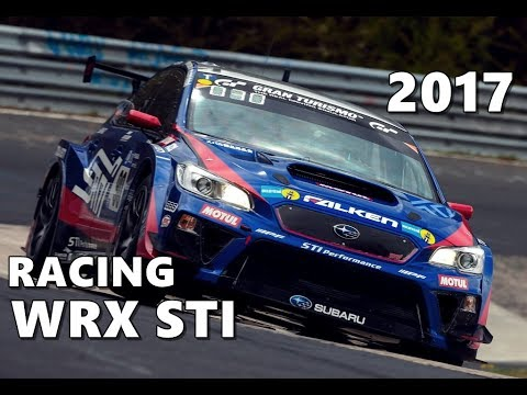 2017 Subaru WRX STI Race Car - YouTube