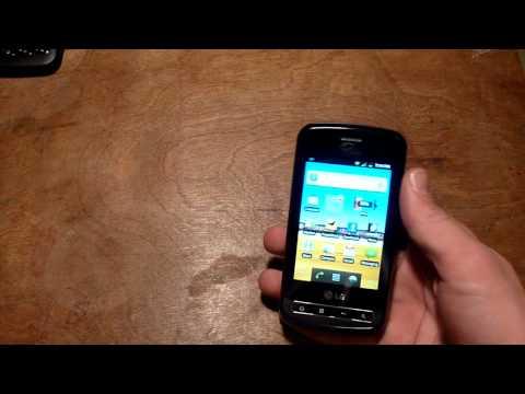 LG Optimus Slider Review Part 1 (Virgin Mobile)
