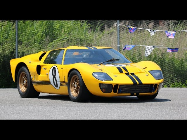 Ford GT40, MKII, MKIV and GT Demo: Simeone Auto Museum