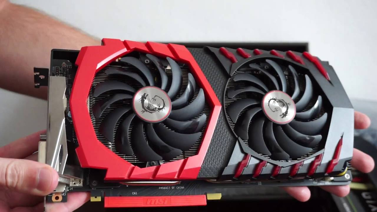 MSI GTX 1070 Gaming X review, unboxing and install