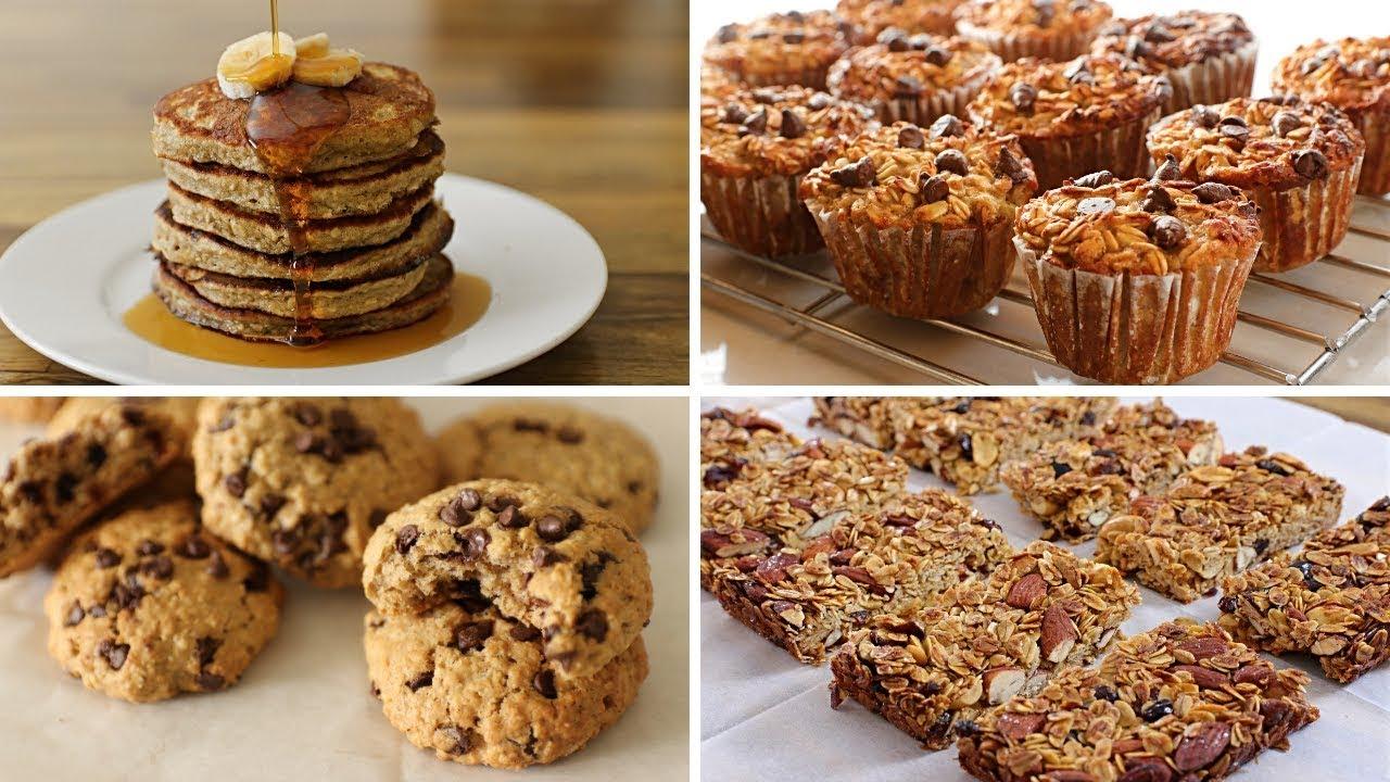 4 Healthy Oatmeal Recipes