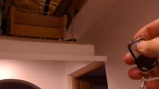 automatyczne wejście /schody na strych
