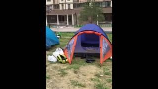 Гусарская Баллада - люди живут в палатках!!!