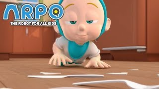 ARPO The Robot For All Kids - Protect the Baby! | | Videos For Kids