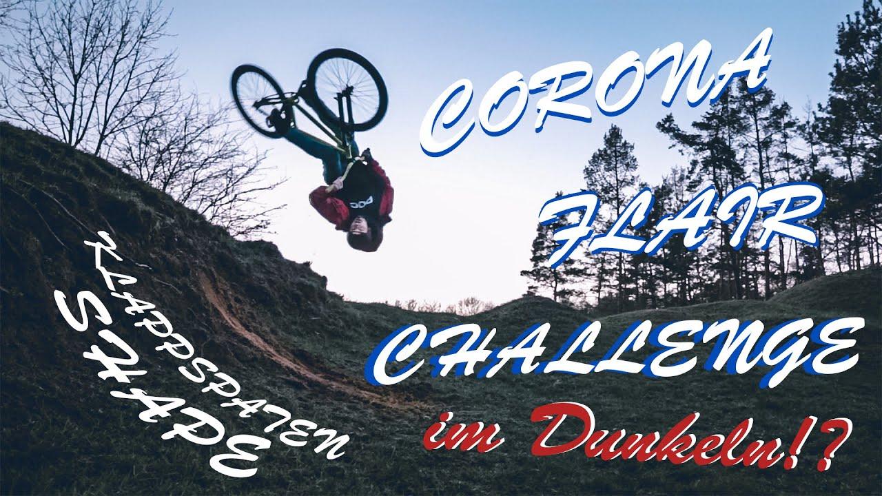 🚲 CORONA Flair Challenge im Dunkeln 🌙