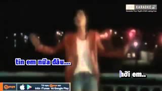 Anh Chỉ Là Hình Bóng Của Người Khác - Lâm Vũ [Karaoke Demo]
