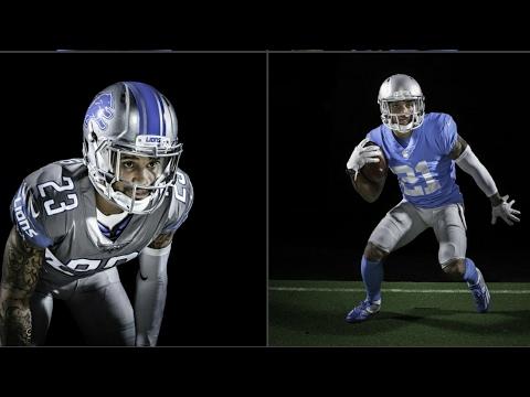 Detroit Lions Uniforms are 🔥🔥🔥