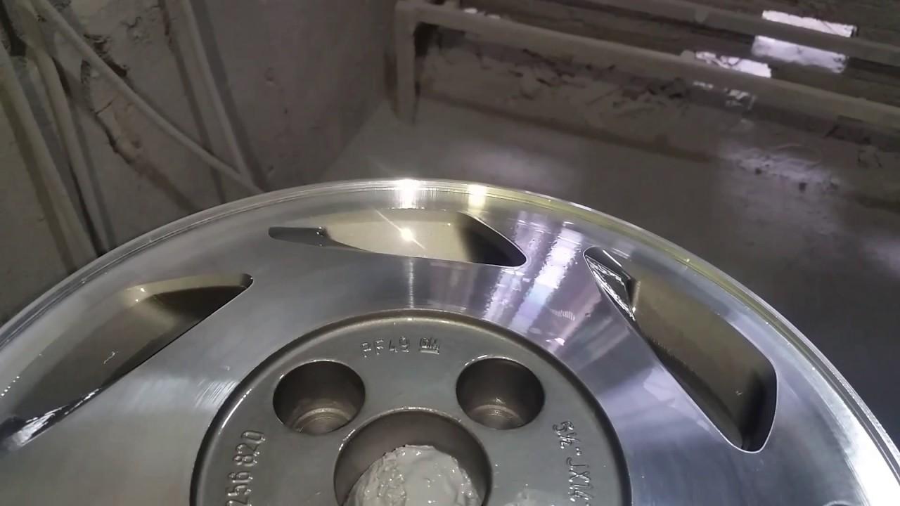 Roda monza aro 14 diamantada com fundo grafit