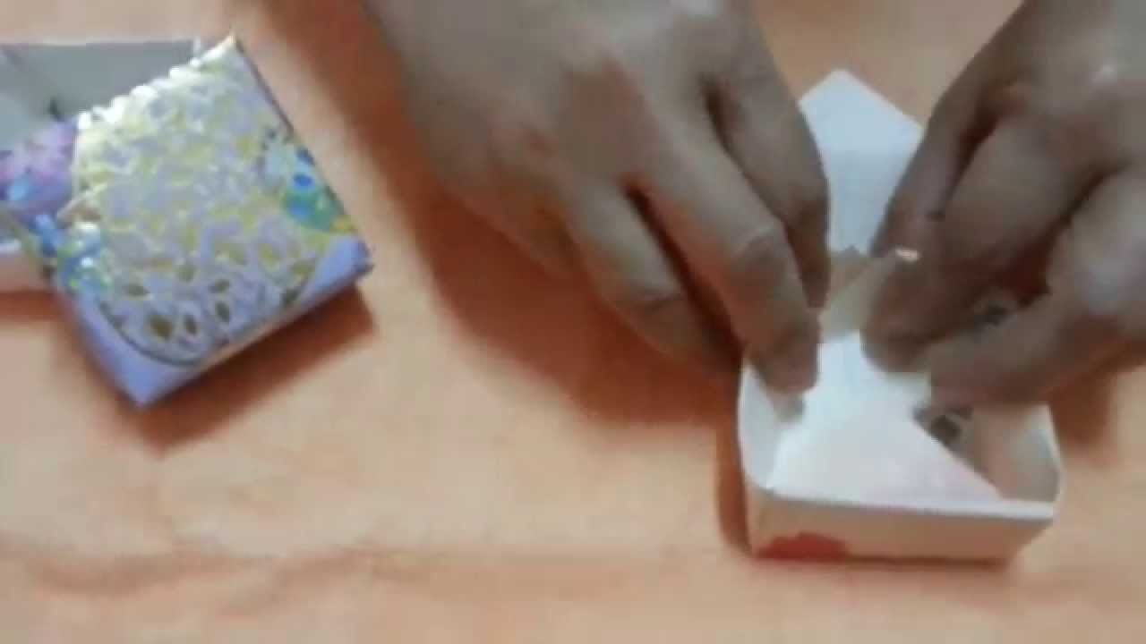 Do It Yourself Jewelry: Do It Yourself A Box Or Jewelry Box From Colour Paper Or