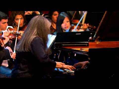 Martha Argerich at the Verbier Festival
