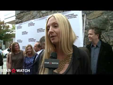 Hope Davis red carpet interview at 21st annual Hamptons International Film Festival