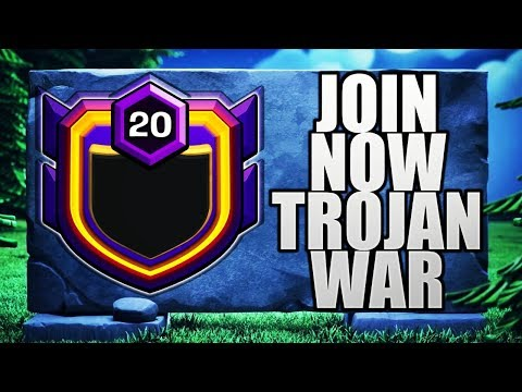 TH 7,8,9 JOIN NOW FOR TROJAN WAR! UPDATE TALKS LIVE CLASH OF CLANS•FUTURE T18
