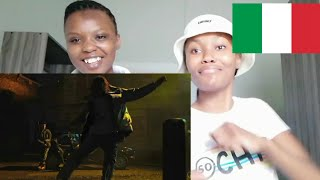 South African First Reaction To Italian Rap    Ghali - Boogieman Ft Salmo