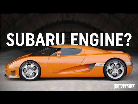 How Koenigsegg nearly used a Subaru F1 engine in its supercars