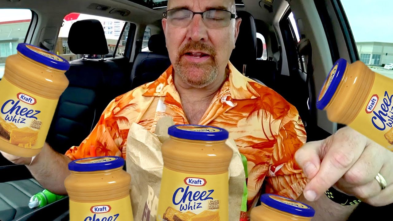 Ken Domik Hallucinates Cheez Whiz At Burger King