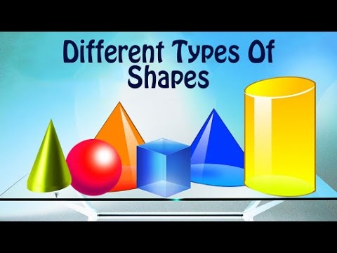 Learn Different Types Of Shapes | Learn Geometric Names For Kids | Preschool Learning Videos