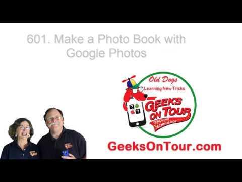 Make a Photo Book with Google Photos Tutorial Video 601