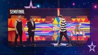 Este mimo enfada a Jorge Javier colándole en su actuación | Semifinal 2 | Got Talent España 2018