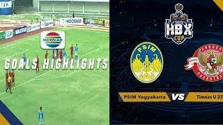 Timnas U23 (4) vs (1) PSIM Yogyakarta - Goal Highlights | Trofeo HB X 2019
