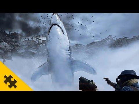 видео: ПАСХАЛКА ПРИЗРАКИ и гигантская АКУЛА в battlefield 1! Как вызвать МЕГАЛОДОНА? (easter eggs)