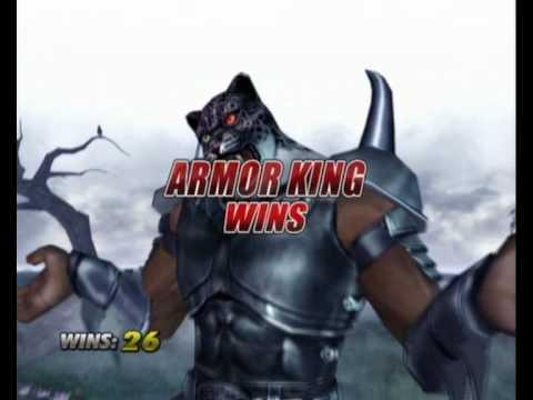 Tekken 5 Dr Armor King Intro Win Animations Youtube