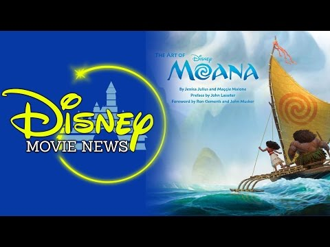 Art of Moana Revealed, Major Marvel Updates and More! - Disn