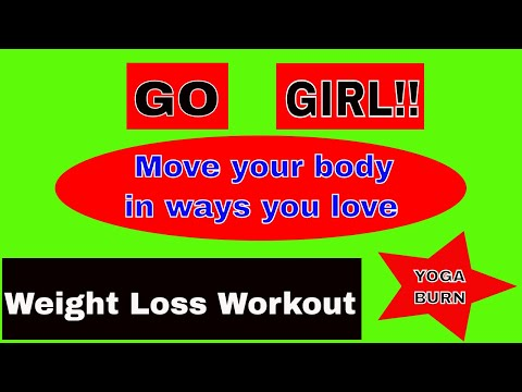 Yoga Challenge For Weight Loss | Fat Burning Home Workout