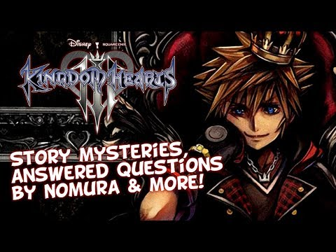 Kingdom Hearts 3: 5,000,000 Shipped! DLC - Critical Mode - Ultimania - Questions Answered By Nomura